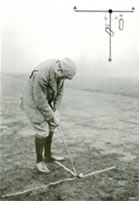 A Cut Approach With Mashie Stance Harry Vardon 1905
