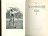 The Game of Golf The Lonsdale Library