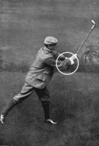 John Ernest Laidlay Held His Clubs Short