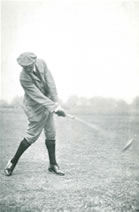 Harry Vardon Fine position after impact