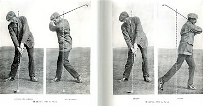 Playing For A Pull James Braid 1909