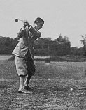 Harry Vardon Plate V. The Overlapping Grip