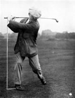 J H Taylor Top of Swing Left Arm Almost Straight