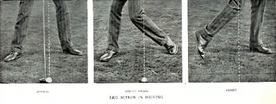 Leg Action In Driving By James Braid