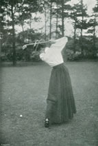 Amy Pascoe 1896 British Ladies Amateur Golf Champion