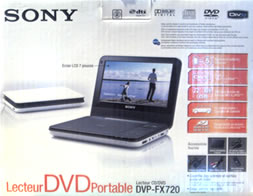 Sony DVP-FX720 Product Box