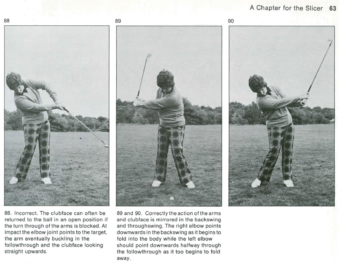 Cure A Golf Slice - Slicing In Golf - Badly Sliced (1899) By